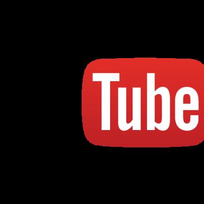 Logo youtube fond transparent